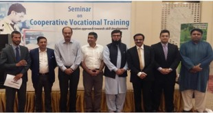 Cooperative vocational training produces qualified workforce for industry