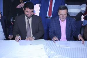 Chairman PGMEA Mr. Abdullah & Director UMT Mr. Butt-min