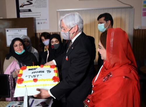 Consul General of German Consulate in Karachi Inaugurated the CCJP Centre at WTTC Quetta