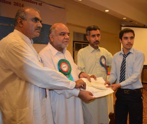 Certificates Award Ceremony in KP