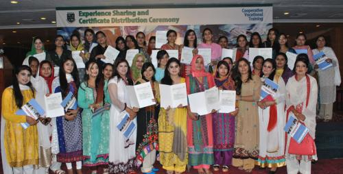 Certificate Distribution Ceremony in Punjab