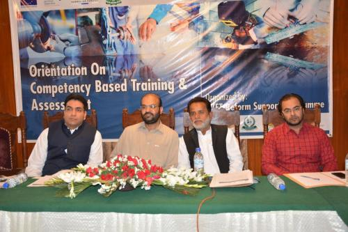 Awareness Session on CBT&A in Quetta
