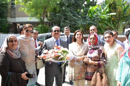 Inauguration of Career Counselling and Job Placement Center in WCCI, Lahore