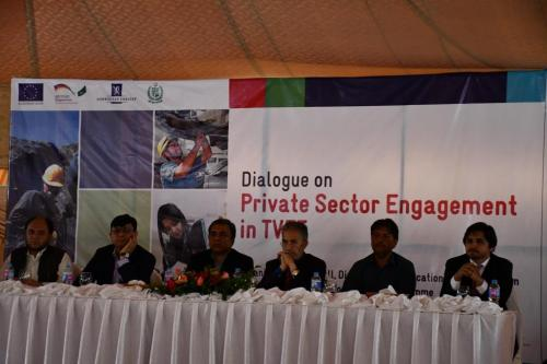 Dialogue with Private Sector in Giglit Baltistan for Increased Partnership