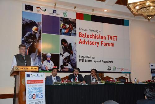 Annual Meeting of Balochistan TVET Advisory Forum