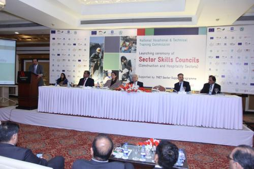 Launch Ceremony of Sector Skills Council in Hospitality and Construction