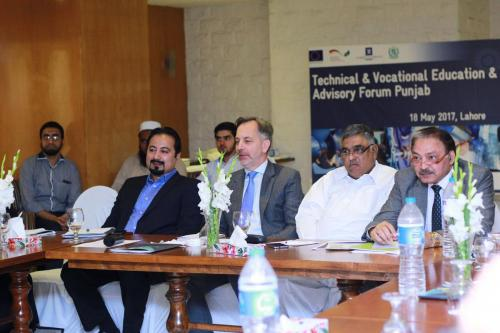 1st Meeting of Punjab Skills Advisory Forum