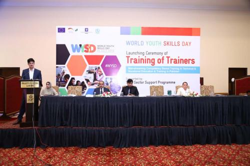 Launching Ceremony of Skills Upgradation and CBT&A Training