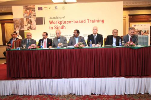 Launch of Workplace-based Training in Sindh