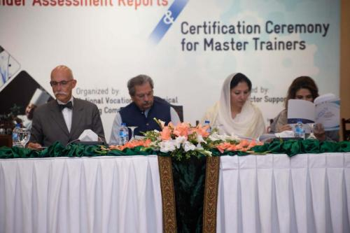 Launching of Gender Reports and Master Trainer Certification