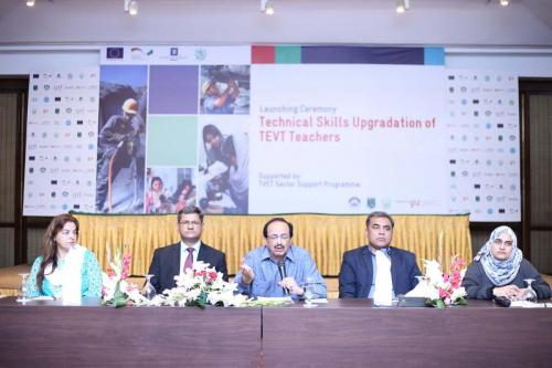 Launch Ceremony of Skills Upgradation of TVET Teachers in Punjab