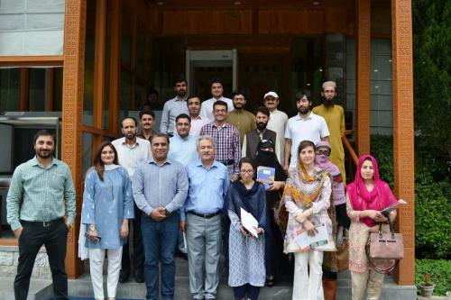 Activity Planning with TVET Stakeholders in Gilgit Baltistan