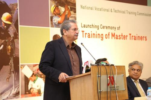 Temporary-Launch Ceremony of Master Trainers